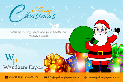 Design a nice christmas greeting