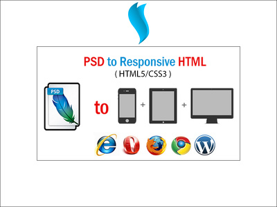 Convert PSD to Responsive HTML (HTML5/CSS3)