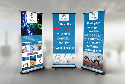 Design Eye Catching Rollup Banner or Billboard or Signage