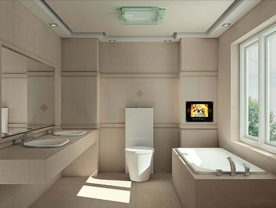 Make a 3D Render of your bathroom