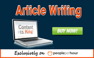 Write high quality SEO friendly article for your website or blog post