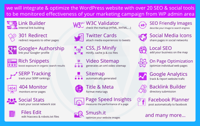 Professional marketing automation service for WordPress website
