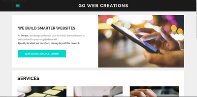 Create a fully responsive website