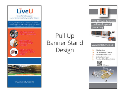 Design your roller banner stand