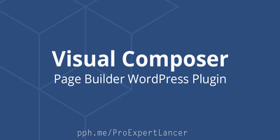 Setup Visual Composer plugin & Design your Page