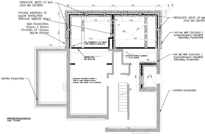 Provide full set of  Building Regs. plans, Calculation & Details