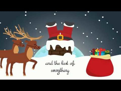Make you a Christmas & New Year video Greetings Card