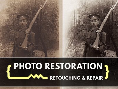 Restore, retouch and digitally repair your old photographs in Photoshop