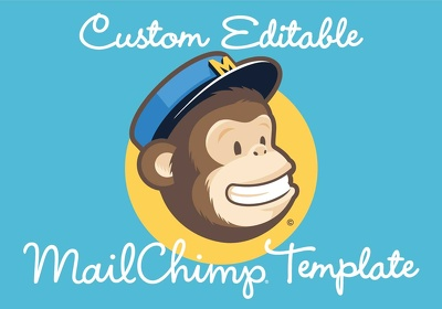 Design and code editable responsive MailChimp html email template