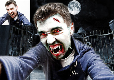 Convert Your Photo in to Vampire