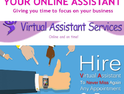 offer virtual assistance for an hour.