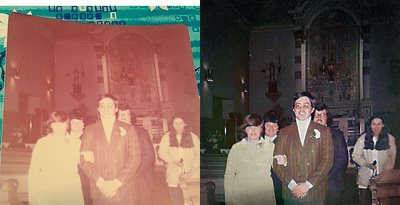 Professionally restore old photos