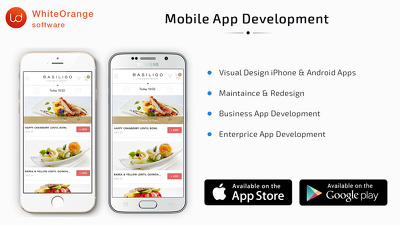 Design and develop your mobile applications in iOS & Android