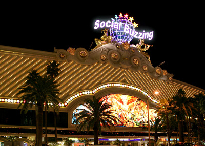 See your name in Vegas Lights! Give your marketing that razzle dazzle!