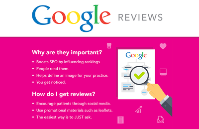 5 (Five) authentic & legit Google Reviews