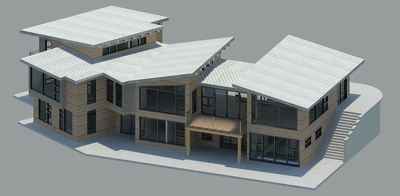 Design conceptual 3D modelin in SketcUp Pro up to 3000 sqft