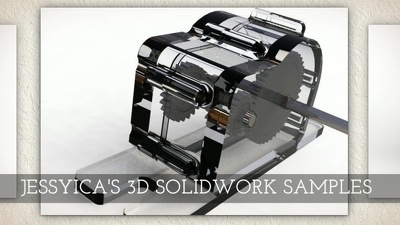 Create a 3D model with solidworks