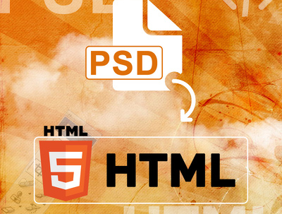 Convert PSD design to HTML