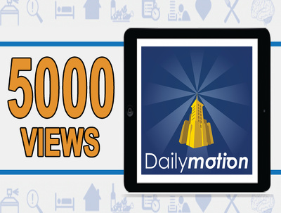 dailyMotion Views - 3000 High Retention Dailymotion Views - Beat Your Competition