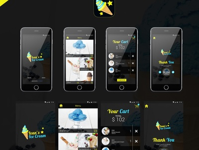 mobile App UIUX for IOS and ANDROID