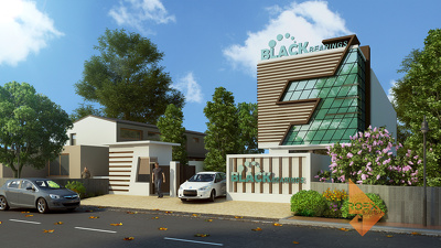 Provide Interior Exterior Visualization from 2D CAD Plan