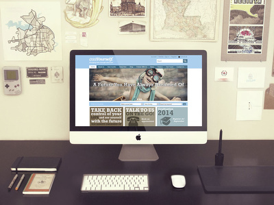 Design a professional Home Page (PSD only)