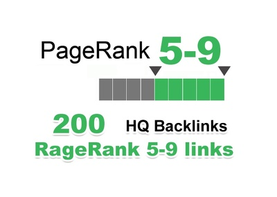 Generate 200 PR 5-9 backlinks