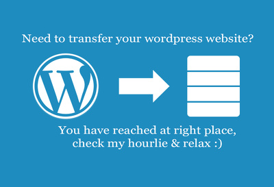 Transfer wordpress website to new hosting or domain or root
