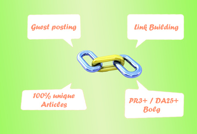 Publish your Guest post  on a relevant PR3+ / DA25+ blog