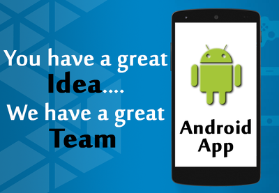 ✔ Design & develop native Android app