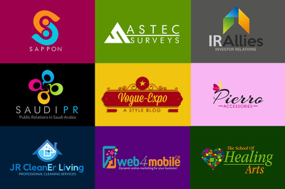 Design a professional, out standing logo , UNLIMITED revisions and source files