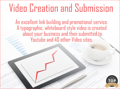Create a Video about your Business and Submit to Youtube and 40 other Video Sites