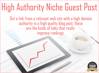 Guest Post on Relevant High Domain Authority Niche Blog (5 for the Price of 4 too)