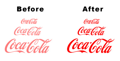 Trace, convert, redraw or vectorise  your logo
