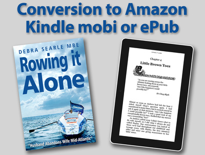 Convert your book to Amazon Kindle mobi or epub