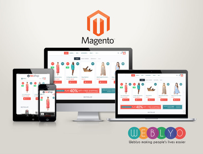 Develop & Design Magento eCommerce website With Professional SEO ready online store