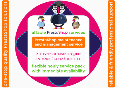 PrestaShop site maintenance pack