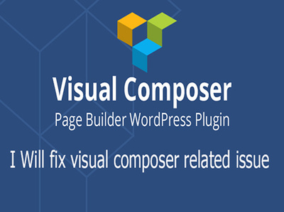 Fix visual composer related problem and Design/redesign/customize WordPress pages