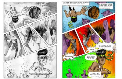 Draw exciting comics/manga