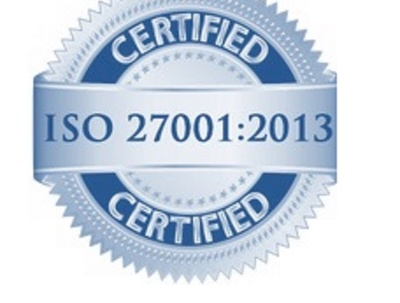 Certify that your site is compliant to ISO 27001 (Information Security