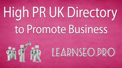 High PR 40 uk directory submission rank high and traffic