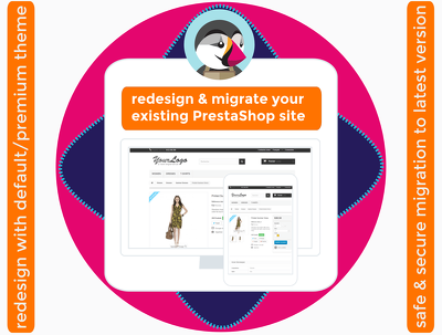 Redevelop your existing PrestaShop site