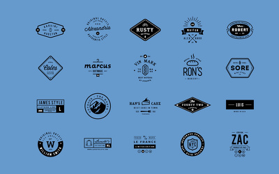 Crafted Logo for your company and any kind of project & web