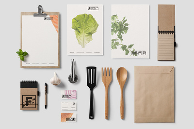 Design your stationary (letterhead, business card, folder, envelope and slips)