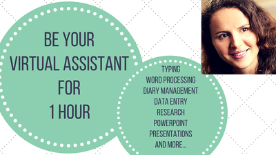 Virtual Assistant/Admin support for 1 hour