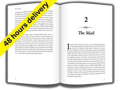 Format book for createspace