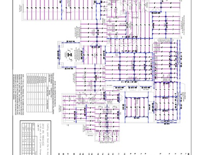 Timber Floor & Roof Framing Drawing in Auto CAD for USA Residential Building Per Page