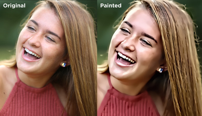 Skillfully convert your 5 photographs into digital painting without readymade effects
