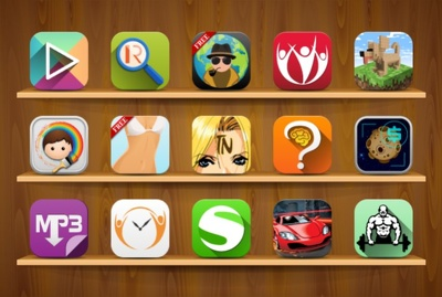 Design very awesome, professional and high quality app and web icon