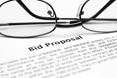 Write up your bid, tender, proposal